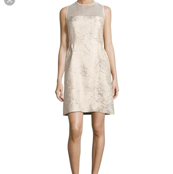 39bb641e2d4a Elie Tahari Dresses | Winny Sleeveless Textured Dress | Poshmark